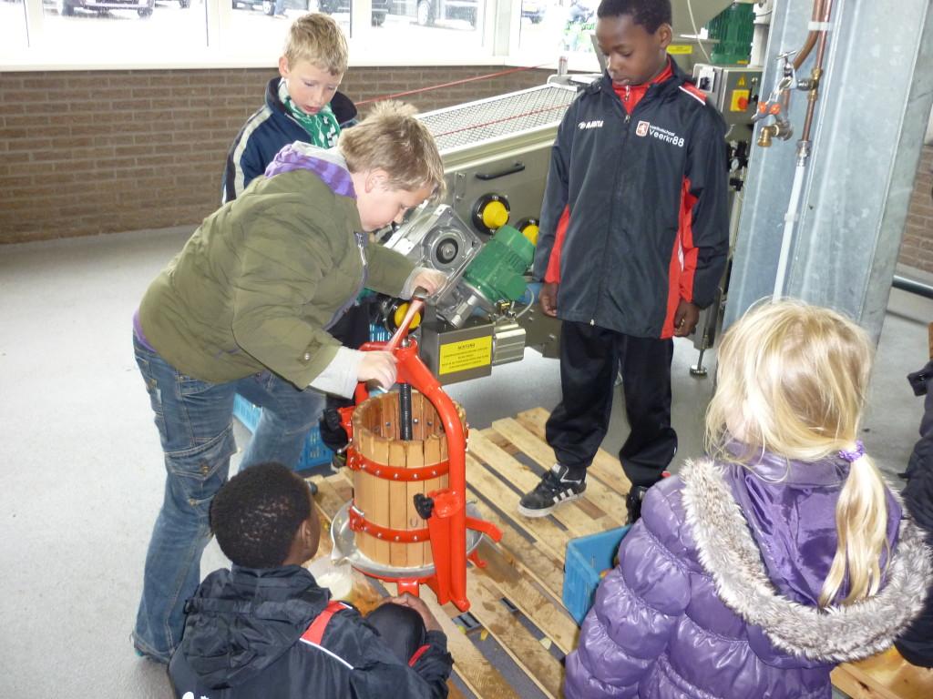 Rondleiding bij de Oudenbosch Fruitteeltbedrijf